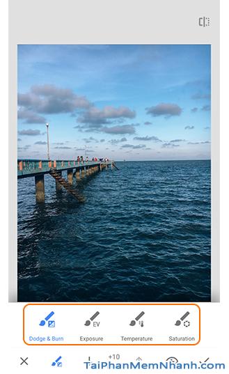 Những công cụ, bộ lọc bạn cần biết trên ứng dụng Snapseed + Hình 15