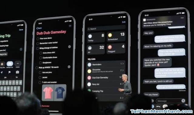 Tổng hợp những tính năng mới trên iOS 13, iPadOS 13 + Hình 2