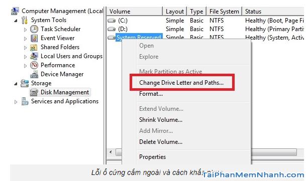 Sửa lỗi không tìm thấy ổ HDD trên máy tính Windows + Hình 11