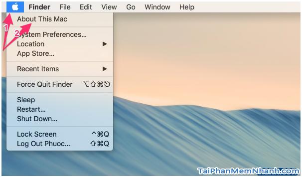 Hướng dẫn kiểm tra dung lượng ổ cứng máy tính Macbook + Hình 3