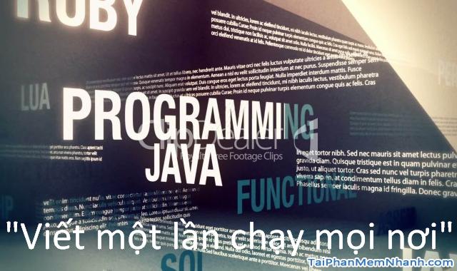 10 lý do khiến bạn nên chọn học ngôn ngữ lập trình Java + Hình 8