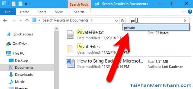 6 cách tìm kiếm nhanh trên Windows 10 + Hình 8