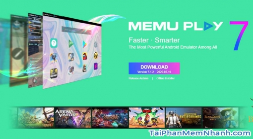 Tải Memu Play – Trình giả lập Android siêu nhẹ, khởi động nhanh