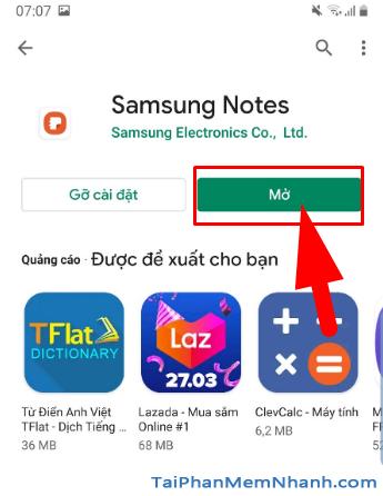 Tải cài đặt ứng dụng Samsung Notes cho điện thoại Android + Hình 13