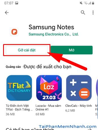Tải cài đặt ứng dụng Samsung Notes cho điện thoại Android + Hình 15