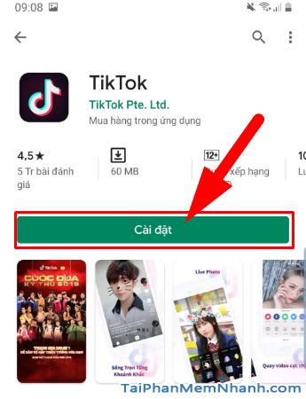Tải cài đặt ứng dụng Tik Tok cho điện thoại Android + Hình 9