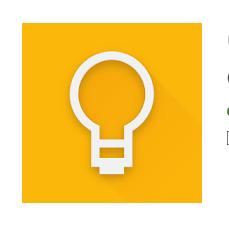 Tải cài đặt ứng dụng ghi chú Google Keep cho Android