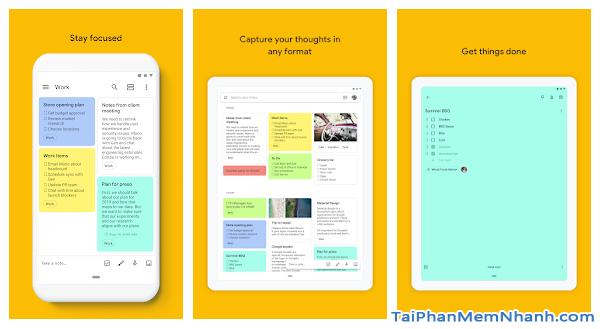 Tải cài đặt ứng dụng ghi chú Google Keep cho Android + Hình 4