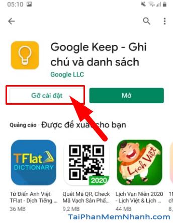 Tải cài đặt ứng dụng ghi chú Google Keep cho Android + Hình 13