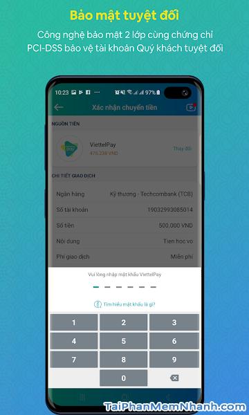 Tải cài đặt ứng dụng ViettelPay cho điện thoại Android + Hình 3