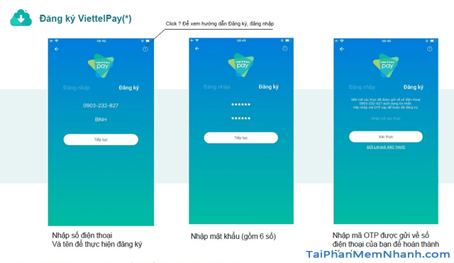 Hướng dẫn sử dụng App ViettelPay để thực hiện các giao dịch + Hình 6