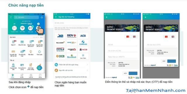 Hướng dẫn sử dụng App ViettelPay để thực hiện các giao dịch + Hình 10