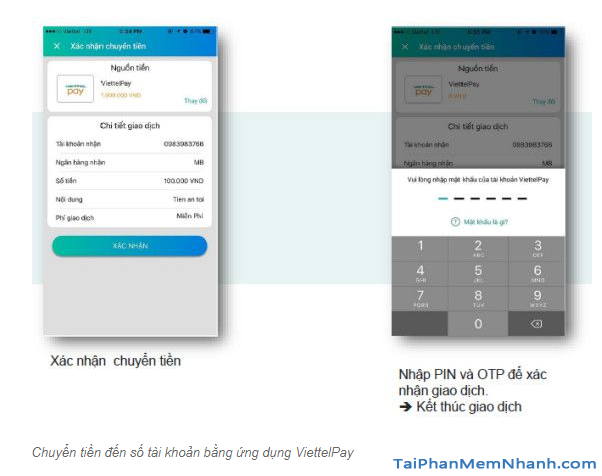 Hướng dẫn sử dụng App ViettelPay để thực hiện các giao dịch + Hình 13