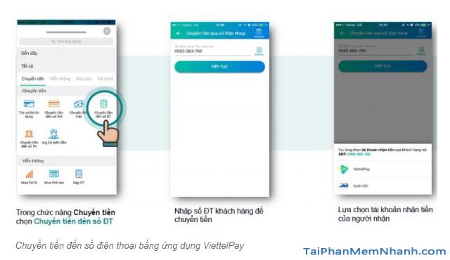 Hướng dẫn sử dụng App ViettelPay để thực hiện các giao dịch + Hình 14