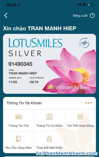 Tải ứng dụng đặt vé máy bay Vietnam Airlines cho Android + Hình 8