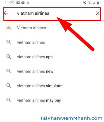 Tải ứng dụng đặt vé máy bay Vietnam Airlines cho Android + Hình 11
