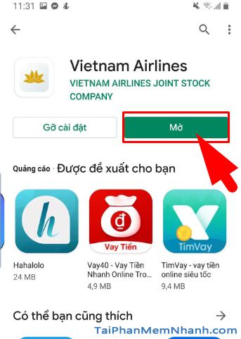 Tải ứng dụng đặt vé máy bay Vietnam Airlines cho Android + Hình 16