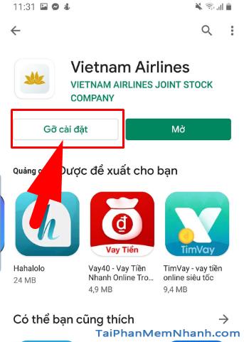 Tải ứng dụng đặt vé máy bay Vietnam Airlines cho Android + Hình 18