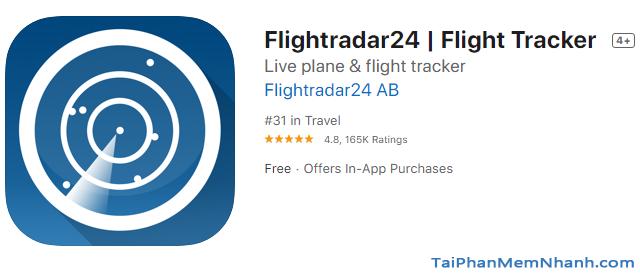 Cách theo dõi chuyến bay của người thân trên Flightradar24 + Hình 5