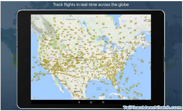 Cách theo dõi chuyến bay của người thân trên Flightradar24 + Hình 7