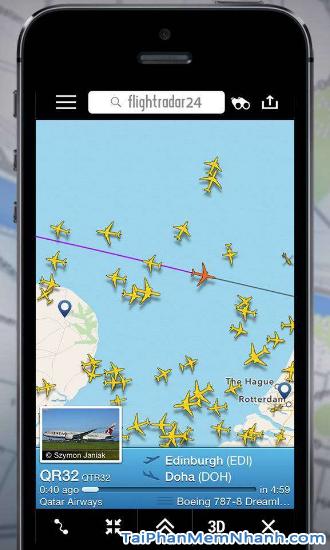 Cách theo dõi chuyến bay của người thân trên Flightradar24 + Hình 9