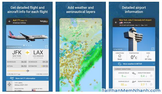 Tải cài đặt ứng dụng Flightradar24 cho Android + Hình 4
