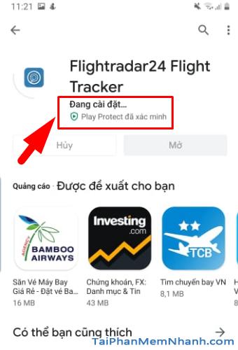 Tải cài đặt ứng dụng Flightradar24 cho Android + Hình 11