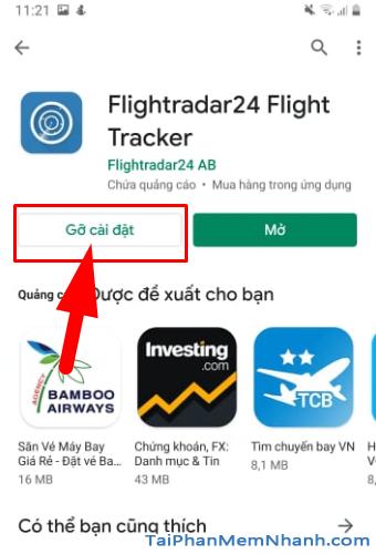 Tải cài đặt ứng dụng Flightradar24 cho Android + Hình 14