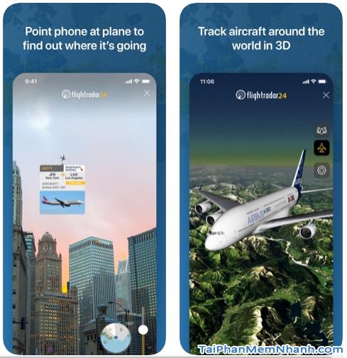 Tải cài đặt phần mềm Flightradar24 cho iPhone, iPad + Hình 5