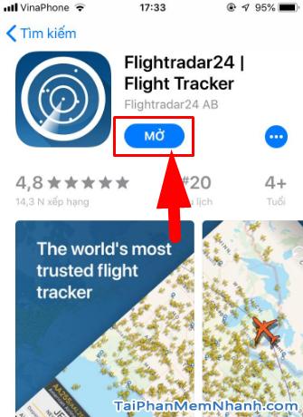Tải cài đặt phần mềm Flightradar24 cho iPhone, iPad + Hình 15