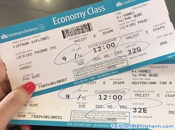 Hướng dẫn đặt vé máy bay online trên trang web Vietnam Airlines + Hình 3
