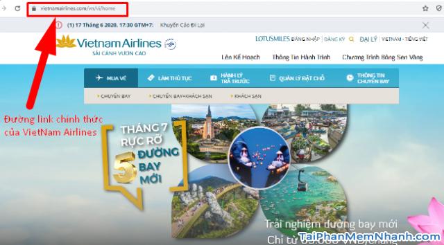 Hướng dẫn đặt vé máy bay online trên trang web Vietnam Airlines + Hình 4