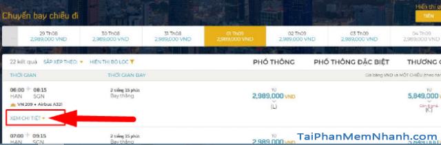 Hướng dẫn đặt vé máy bay online trên trang web Vietnam Airlines + Hình 9