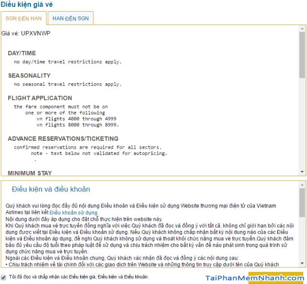 Hướng dẫn đặt vé máy bay online trên trang web Vietnam Airlines + Hình 18