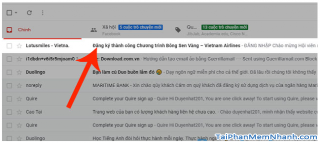 Đăng ký tài khoản Bông Sen Vàng trên web Vietnam Airlines + Hình 12