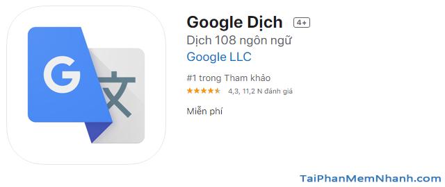 Google Translate: Thủ thuật dịch ngôn ngữ không cần internet + Hình 5