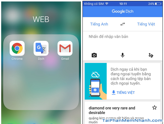 Google Translate: Thủ thuật dịch ngôn ngữ không cần internet + Hình 6