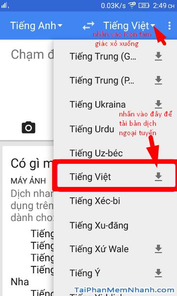 Google Translate: Thủ thuật dịch ngôn ngữ không cần internet + Hình 8