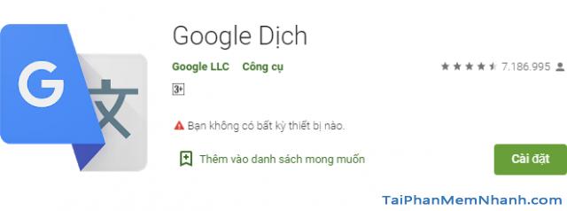 Dùng Google Translate dịch văn bản bằng ảnh được chụp + Hình 3
