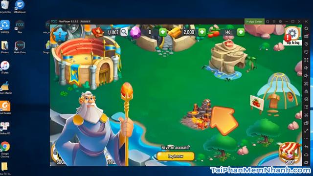 Hướng dẫn tải cài đặt game Dragon City cho máy tính + Hình 6