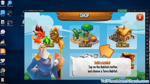 Hướng dẫn tải cài đặt game Dragon City cho máy tính + Hình 8
