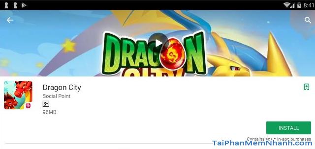 Hướng dẫn tải cài đặt game Dragon City cho máy tính + Hình 13