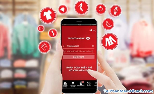 Tải cài đặt ứng dụng Techcombank cho điện thoại Android + Hình 4