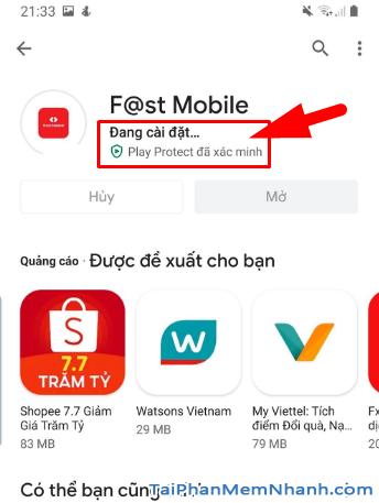 Tải cài đặt ứng dụng Techcombank cho điện thoại Android + Hình 12