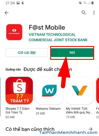 Tải cài đặt ứng dụng Techcombank cho điện thoại Android + Hình 13