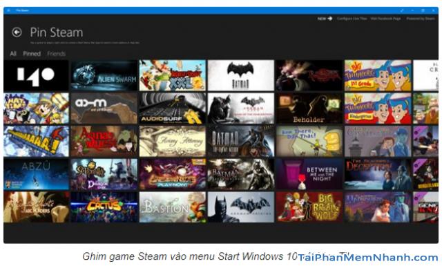 Cách ghim game Steam trên máy tính Windows 10 + Hình 7
