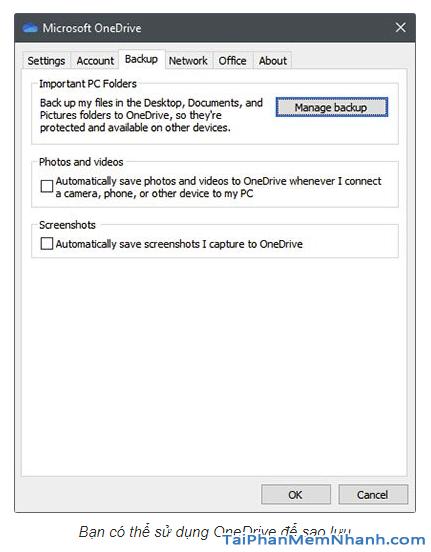 Khái niệm Onedrive trong Windows 10 + Hình 4
