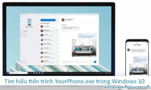 Tìm hiểu tiến trình YourPhone.exe trong Windows 10