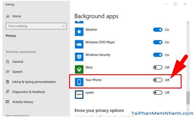 Tìm hiểu tiến trình YourPhone.exe trong Windows 10 + Hình 5