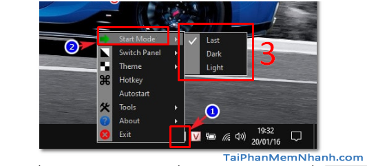 Đổi giao diện Sáng - Tối trong Windows 10 với Easy Dark Mode + Hình 5